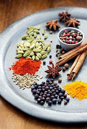 Кулинарные специи и пряности