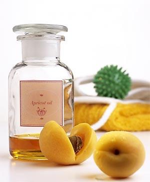 абрикосовая питательная маска