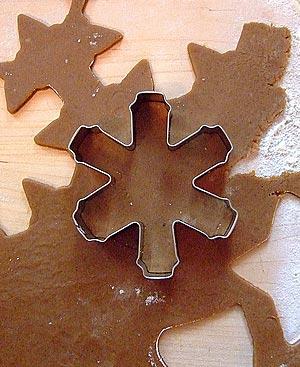 технология приготовления имбирных рождественских пряников