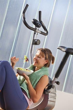 Правильное питание до и после тренировок