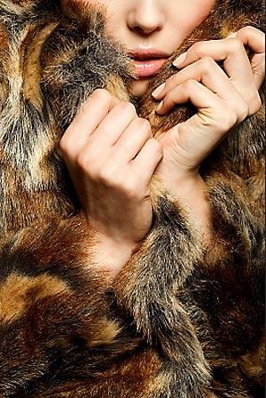 Шкурки из меха лисы