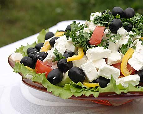 """Классический салат  """"Цезарь """" с курицей.  Рецепт и фото.  Ну вот и всё."""